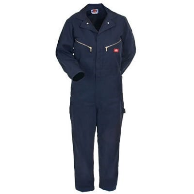 Dickies Coveralls: Dark Navy Deluxe Blended Coveralls 48799 DN Sale $39.00 Item#48799DN :