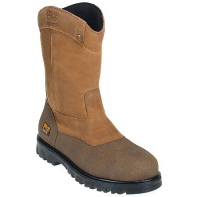 Timberland PRO Boots: Men's 89604 Waterproof EH Wellington Steel Toe Boots