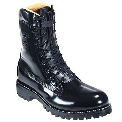 Chippewa Men's 8 Inch Black Polishable Motorcycle Steel Toe Boot 27422 Sale $245.00 Item#27422 :