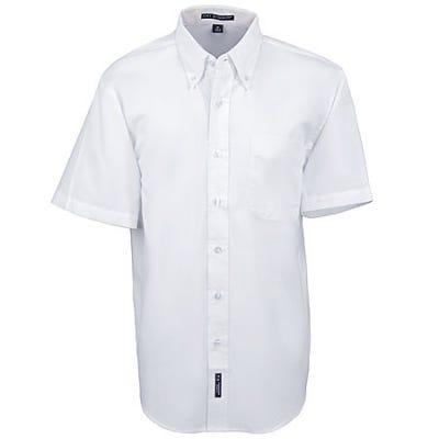 Port Authority Shirts: Men's White Short Sleeve Shirt S508