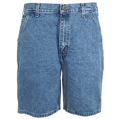 Carhartt Shorts: Men's Stonewash B29 STW Denim Work Shorts