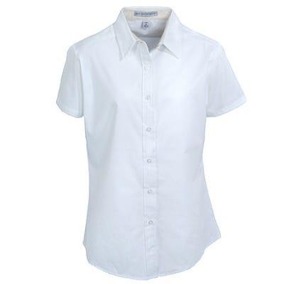 Port Authority Women's White Short Sleeve Shirt L508 WHT