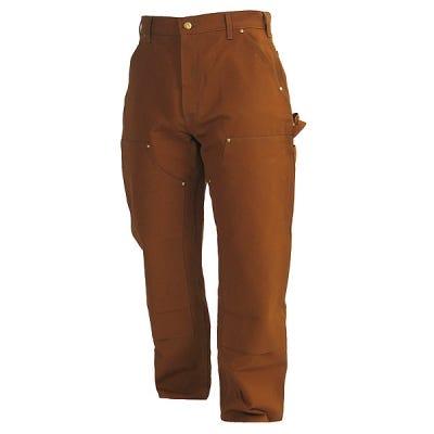 Carhartt Pants: Men's Brown Duck Work Pants B01 BRN Sale $45.00 Item#B01BRN :