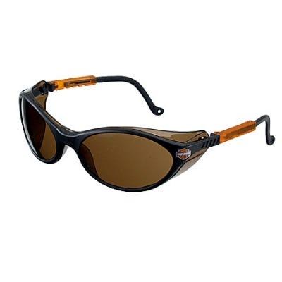 Harley Davidson Safety Eyewear: Black Safety Glasses HD102 Sale $11.00 Item#NOWN-OMNI-47422 :