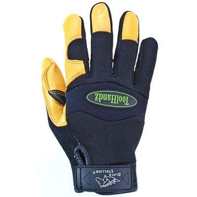Black Stallion Gloves Safety Gloves ToolHandz Deerskin Work Gloves 99DEER