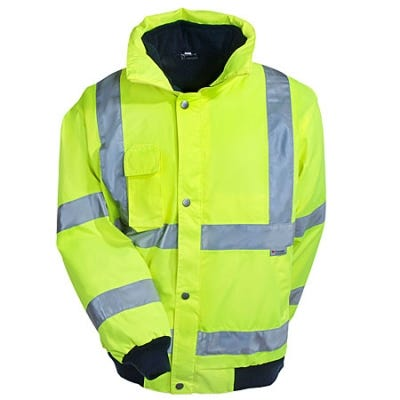 Ergodyne GloWear 8380 Class 3 Lime High Visibility Jacket Sale $99.00 Item#8380-LIM :