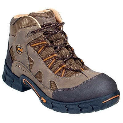 Timberland PRO Boots: Men's Expertise 50500 Brown Steel Toe Hiking Boots