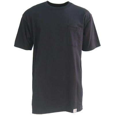 Dickies Shirts: Mens Black 1144624 BK Two Pack Pocket Tee Shirts