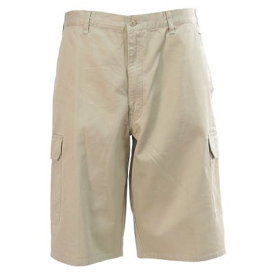 Dickies Men's Rinsed Khaki 43214 RKH Cotton Twill Cargo Shorts