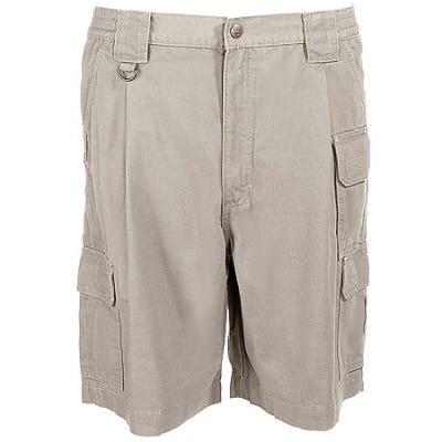 5.11 Tactical Men's Khaki Cotton Canvas Work Shorts 73285 055