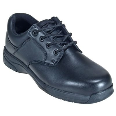 Rocky Women s SlipStop Black Plain Toe Oxford Shoe 234 - 7.5W