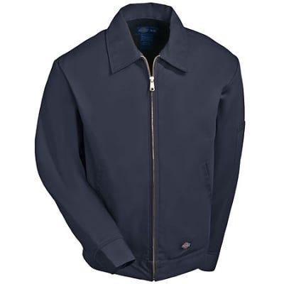 Dickies Jackets: Mens Charcoal TJ15 CH Lined Eisenhower Full Zip Jacket
