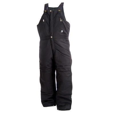Carhartt Overalls: R33 BLK Carhartt Quilt Lined Bib Overalls Sale $120.00 Item#R33BLK :