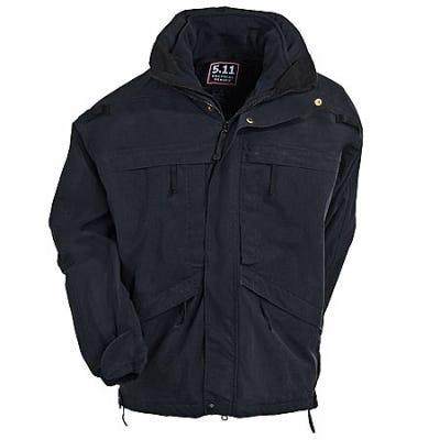 5.11 Tactical Jackets: Men's 3 In 1 Black Parka Jacket 48001 019 Sale $250.00 Item#48001-019 :