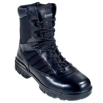 Bates Women's Side Zip 8 Inch Black Tactical 2700