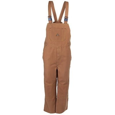 Bulwark Overalls: Duck Unlined Flame-Resistant Overalls BLF8 BD