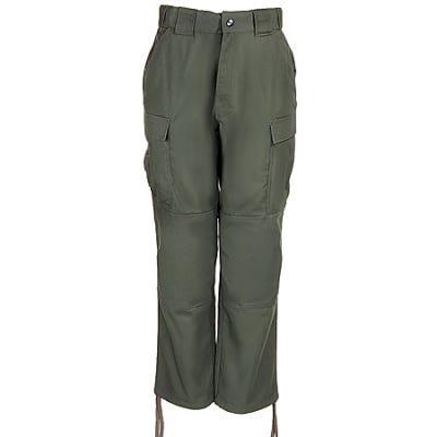 5.11 Tactical Pants: Men's TDU Ripstop Green Work Pant 74003 190