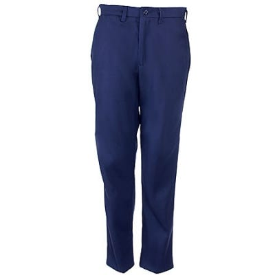 Bulwark Pants: Men's PEW2 NV Excel-FR Navy Twill Work Pants Sale $49.00 Item#24067 :
