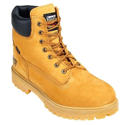 Timberland PRO Boots: Men's Waterproof 65016 Wheat Nubuck Steel Toe Boots