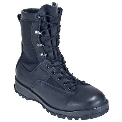 Belleville Boots Belleville Boots: Men's Black 700 Waterproof USA-Made Military Duty Boots 700