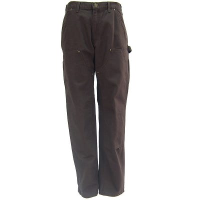 Carhartt Jeans: Double Front Duck Dungaree Pants B136 DKB Sale $47.00 Item#B136DKB :