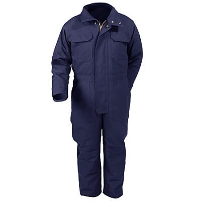 Bulwark Coveralls: Flame-Resistant Insulated  Coveralls CLC8 NV