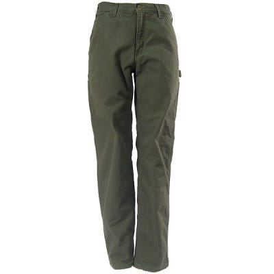 Carhartt Pants: Flannel Lined Pants B111 MOS Sale $50.00 Item#B111MOS :