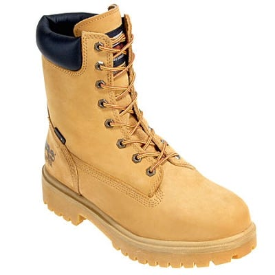 Timberland PRO Boots: Men's 26002 Waterproof Wheat Nubuck Steel Toe Boots