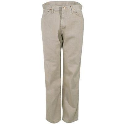 Wrangler Jeans: Men's Cowboy Cut Tan Denim Work Jeans 13MWZ TN Sale $37.00 Item#13MWZTN :