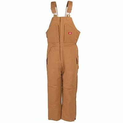 Dickies TB839 BD Insulated Bib Overall- Brown Duck Sale $70.00 Item#TB839BD :