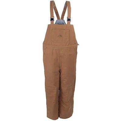 Bulwark Overalls: Flame Resistant Insulated Duck Overalls BLN4 BD
