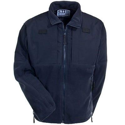 5.11 Tactical Jackets: Men's Navy Fleece WindBreaker Jacket 48038 724 Sale $100.00 Item#48038-724 :