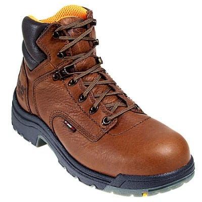 Timberland PRO Boots: Men's Brown 26063 TiTAN Safety Toe EH Work Boots