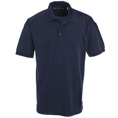 5.11 Tactical Men's Cotton Dark Navy Polo 41060 724
