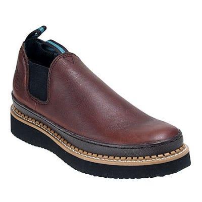 Georgia Boots: Men's GR274 Georgia Giant Leather Romeo Boots
