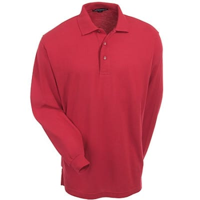 Touch | Shirt | Silk | Polo | Men | Red