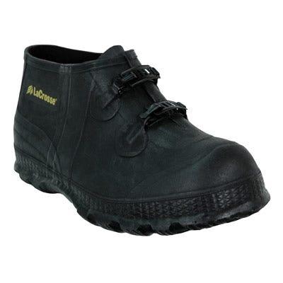 LaCrosse Boots: Men's 266100 Black Waterproof Slip-Resistant Overshoes