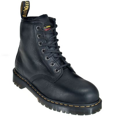 Doc Martens R12231002 Steel Toe 6 Inch Work Boots