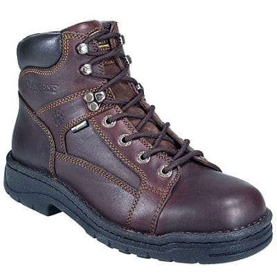 Wolverine Boots: Men's Brown Briar 4378 DuraShocks Work Boots