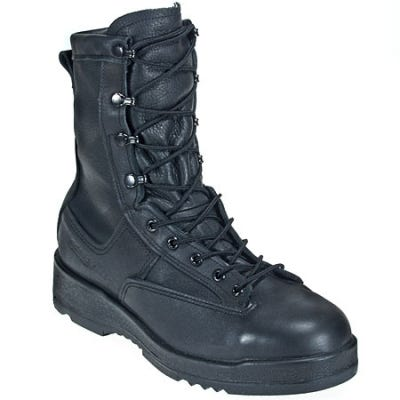 Belleville Boots: Men's Steel Toe 800 ST Waterproof EH USA-Made Flight Deck Boots