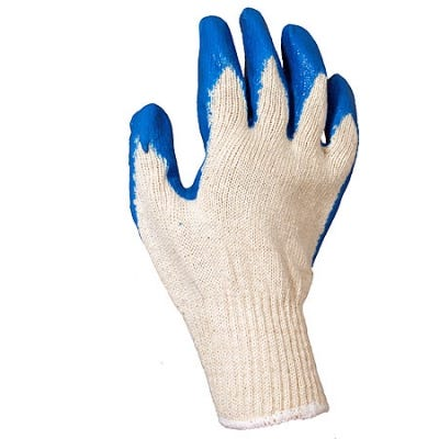 Revco Gloves Latex Coated Cotton