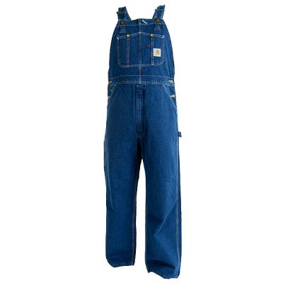 Carhartt Overalls: Darkstone Cotton Bib Overalls R07 DST Sale $50.00 Item#R07DST :