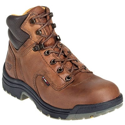 Timberland PRO Boots: Women's TiTAN 55398 Brown EH Anti Odor Work Boots