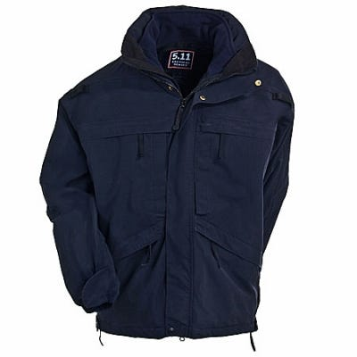 5.11 Tactical Jackets: Men's 3-In-1 Navy Parka Jacket 48001 724 Sale $250.00 Item#48001-724 :