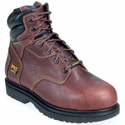 Timberland PRO Boots: Men's Flexshield 50504 Burgundy Met Guard Steel Toe Boots
