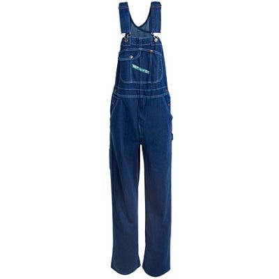 Key Overalls: Garment-Washed Cotton Denim Zipper Fly Bib Overalls 273 43 Sale $34.00 Item#89944 :
