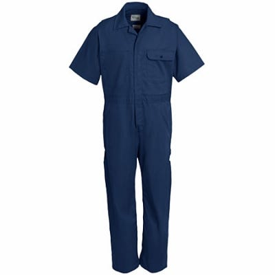 Key Coveralls: Unlined Cotton Blend Navy Coveralls 996 41 Sale $27.00 Item#996-41 :