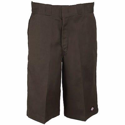 Dickies 42283 DB Dark Brown 13 Inch Stain Release Work Shorts