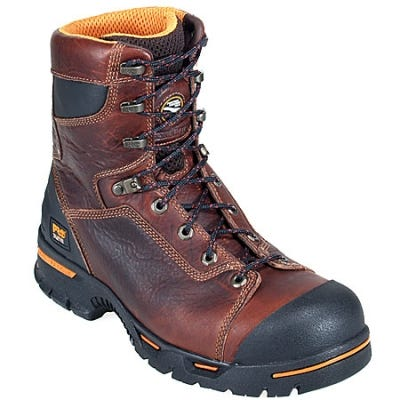 Timberland PRO Boots: Men's Endurance PR 52561 Brown Steel Toe Work Boots
