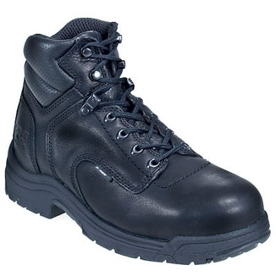 Timberland PRO Boots: Men's TiTAN 26064 Black Alloy Toe EH Work Boots